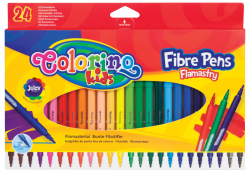 Flamastry 24 kolory COLORINO KIDS (14625PTR)