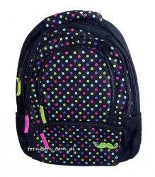 Plecak szkolny młodzieżowy MUSTACHE (INT25948)
