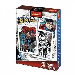 TREFL Gra karty PIOTRUŚ, Superman (08469)