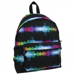 Plecak szkolny młodzieżowy FULL PRINT RAINBOW SPLASH (PLM16J10)
