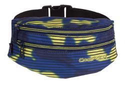 Saszetka na pas torba nerka COOLPACK MADISON granatowo - żółte moro, NAVY HAZE 941 (70232)