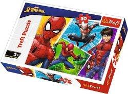 TREFL Puzzle 30 el. Spider-Man i Miguel (18242)