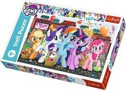 TREFL Puzzle 160 el. Kucyki na zakupach, My Little Pony (15365)