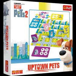 TREFL Gra planszowa Uptown Pets, Sekretne życie zwierzaków domowych (01762)