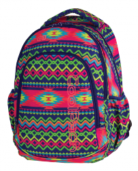 Plecak CoolPack PRIME w kolorowe zygzaki, BOHO ELECTRA 1061 (79518)