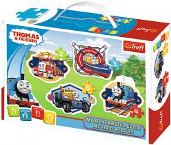 TREFL Puzzle BABY CLASSIC Tomek i Przyjaciele (36066)