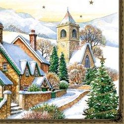 Serwetki świąteczne BOŻONARODZENIOWE Maki (SLGW003101)