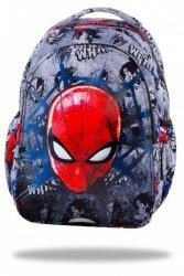 ZESTAW 3 el. Plecak wczesnoszkolny CoolPack JOY S Spiderman na szarym tle, SPIDERMAN BLACK (B48303SET3CZ)