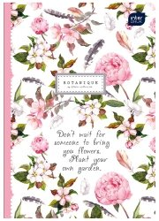 Zeszyt w kratkę 60 kartek BOTANIQUE Kwiaty (58878)