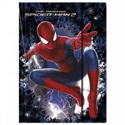 Teczka rysunkowa A4 z gumką Spiderman (TGA4CM)