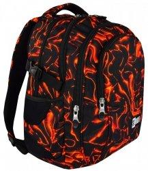 Plecak szkolny młodzieżowy ST.RIGHT płynąca lawa, LAVA BP1 (17881)