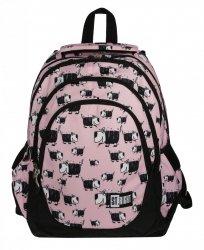 Plecak szkolny młodzieżowy ST.RIGHT w pieski, DOGS BP6 (20690)