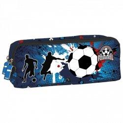 Piórnik dwukomorowy FOOTBALL Piłka nożna (PDZPI12)
