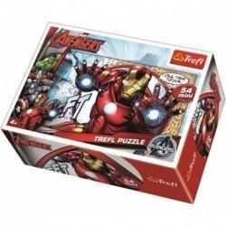 TREFL Puzzle mini 54 el. AVENGERS Iron Man (19498)