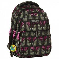 Plecak szkolny młodzieżowy BackUP WILCZKI (PLB2N52)