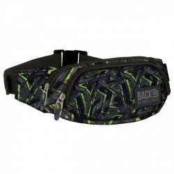 SASZETKA NERKA Back UP na pas torba zielone wzory GREEN SCRATCH (TBB1A31)