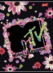Zeszyt w linię 60 kartek MTV  (91937)