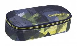 Piórnik CoolPack CAMPUS zielone wzory geometryczne, LIME ABSTRACT (84960CP)