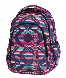 Plecak szkolny młodzieżowy COOLPACK PRIME w meksykańskim stylu, PINK MEXICO 1065 (79556)