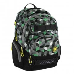 Coocazoo plecak CarryLarry 2 MatchPatch, Crazy Cubes Green (138744)