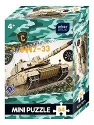 Puzzle MINI 54 el. CZOŁG (65067)