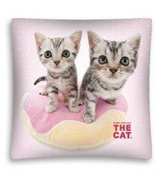 Poszewka na poduszkę 3D THE CAT 40 x 40 cm (CAT04MF)
