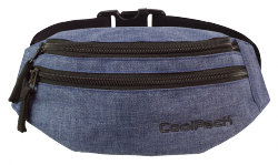 Saszetka na pas torba nerka COOLPACK MADISON niebieska, SNOW BLUE 860 (76302)
