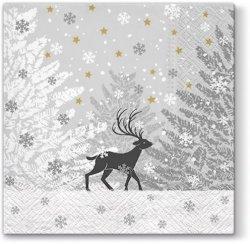 Serwetki dekoracyjne Frozen Scenery ZIMOWA SCENERIA 33x33 cm (SDL012800)