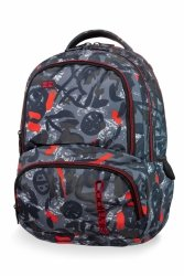 Plecak CoolPack SPINER w szare wzory, RED INDIAN (B01005)