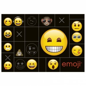 Podkład oklejany na biurko Emoji EMOTIKONY (POEM01)