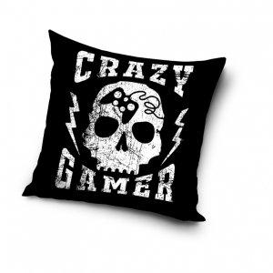 Poszewka na poduszkę  CRAZY GAMER 40 x 40 cm (PD201009)