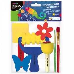 Zestaw 7 przyborów do malowania Kidea (Z7PMBKA)