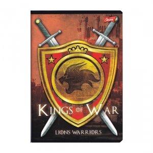 Zeszyt A5 w linię 80 kartek Kings of War (07110)