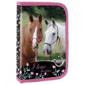 Piórnik z wyposażeniem I LOVE HORSES Konie (PWJKO20)