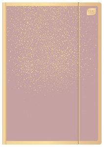 Teczka rysunkowa Satin Gold A4 z gumką SPLASH (92919)