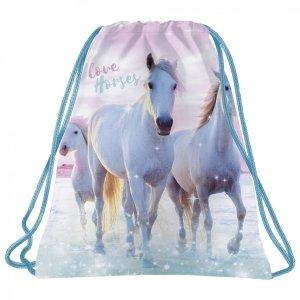 Worek na obuwie I LOVE HORSES Konie (WOKO22)