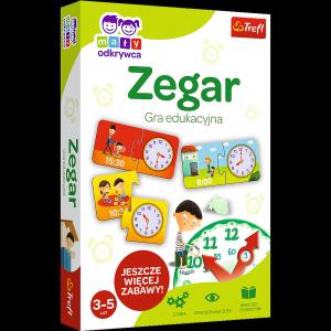 TREFL Gra edukacyjna Mały Odkrywca, Zegar (01948)