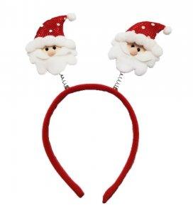 Opaska świąteczna na głowę MIKOŁAJ (901556)