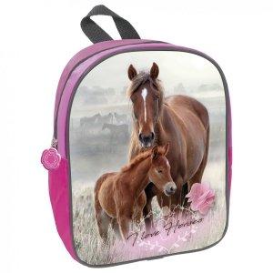 Plecak przedszkolny wycieczkowy I LOVE HORSES Konie (PL11TKO18)