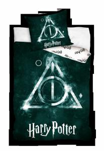 Pościel bawełniana Harry Potter 160 x 200 cm komplet pościeli (HP183029)