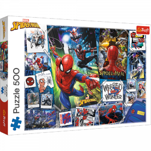 TREFL Puzzle 500 el. Plakaty z superbohaterem (37391)