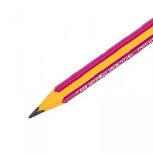 Ołówek do nauki pisania BiC Kids Beginners Girls różowy (45775)