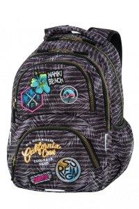 Plecak CoolPack DART z naszywkami, BADGES G GREY (B19155)