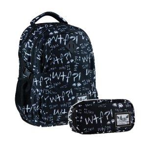 ZESTAW 2 el. Plecak młodzieżowy Hash 27 L WTF (502020105SET2CZ)