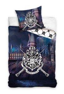 Pościel bawełniana Harry Potter 140 x 200 cm komplet pościeli (HP188010)