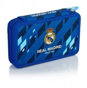 Piórnik z wyposażeniem, dwukomorowy Real Madryt (503018007)