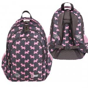 Plecak wczesnoszkolny ST.RIGHT w psiaki, DOGGIES BP58 (25633)