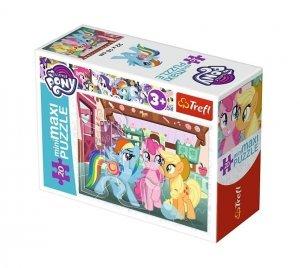 TREFL Puzzle miniMaxi 20 el. My Little Pony, Wesoły dzień kucyków (21079)