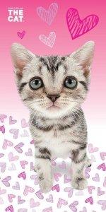 Ręcznik plażowy kąpielowy THE CAT KOTEK (CAT03BT)