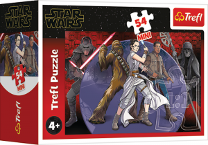 TREFL Puzzle mini 54 el. Star Wars, Siły mocy (19644)